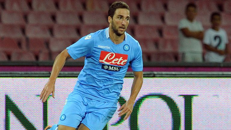 Gonzalo Higuain: Moved to Napoli ahead of Arsenal in the summer