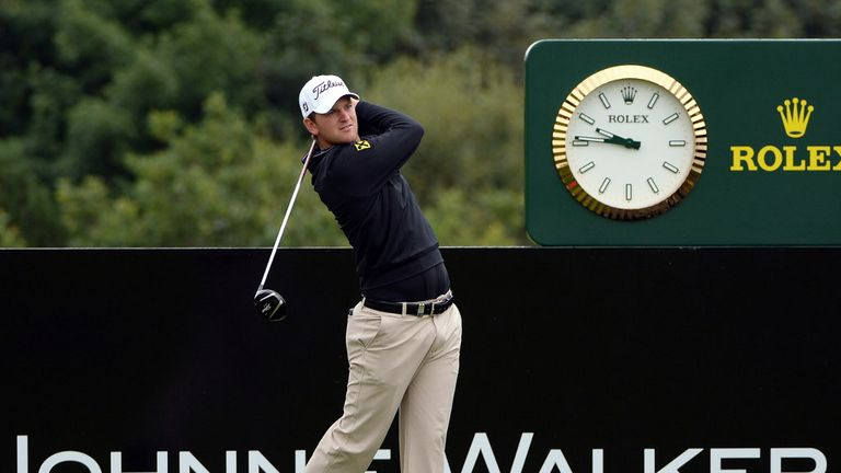 Bernd Wiesberger: Share of the lead after round one