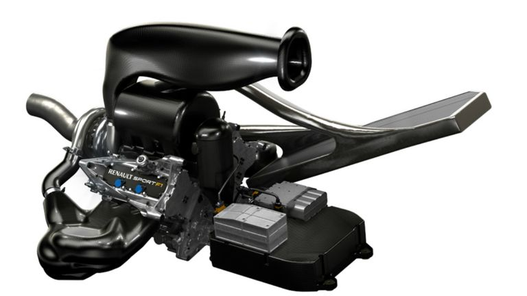 Power unit: Renault's 2014 engine plus ERS and ancillaries