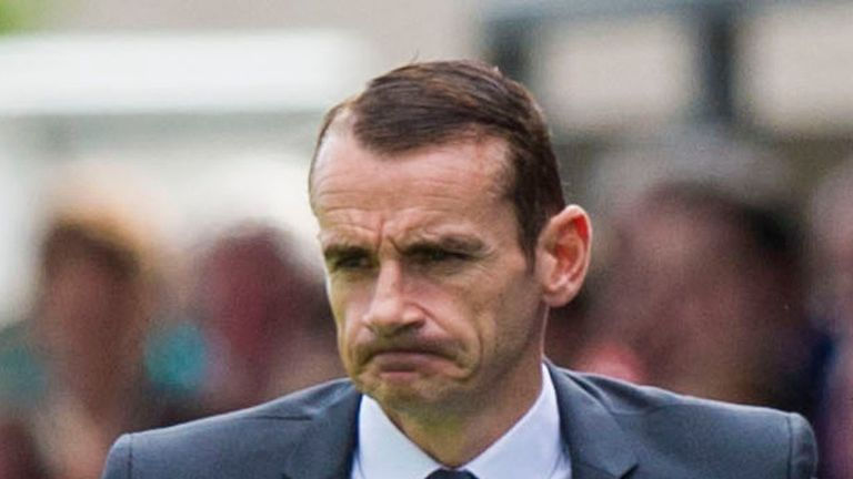 Danny Lennon: Rues the loss of Paul McGowan
