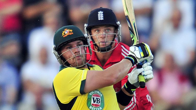Aaron Finch: Out to make an impression in India