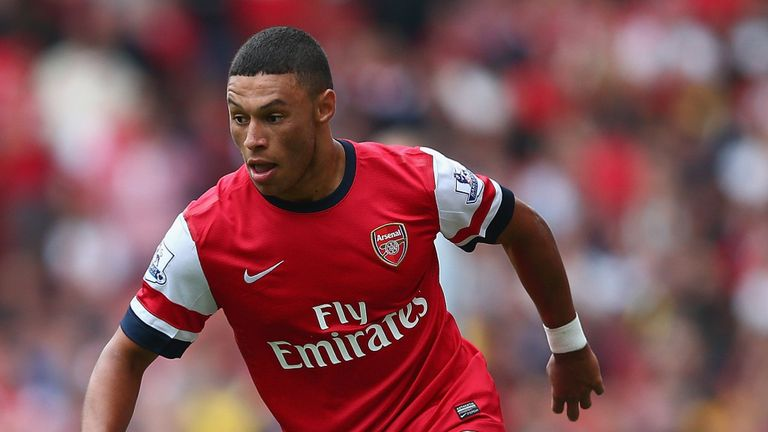 Alex Oxlade-Chamberlain: The winger is set for a return to Arsenal training