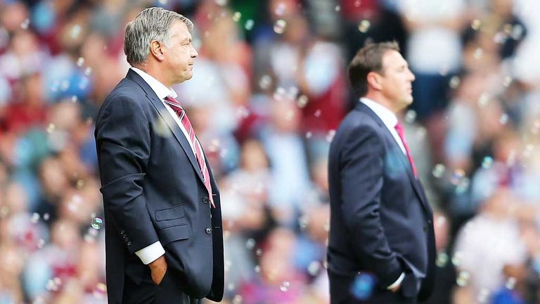 Sam Allardyce: West Ham boss believes Cardiff counterpart Malky Mackay (right) has a quality squad