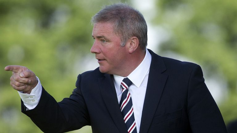 Ally McCoist: Revealed his interest in veteran Kenny Miller