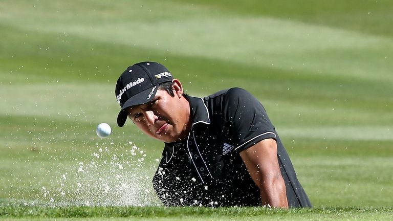 Andres Romero: Moved into the lead after birdie blitz at Montreux