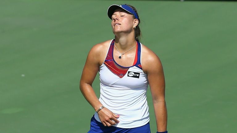 Angelique Kerber: A shock loser at the New Haven Open