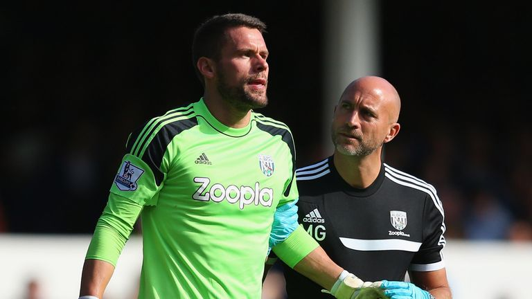 Ben Foster: West Brom keeper still out with foot injury