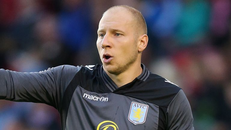 Brad Guzan: Has helped Aston Villa recover well from slow start