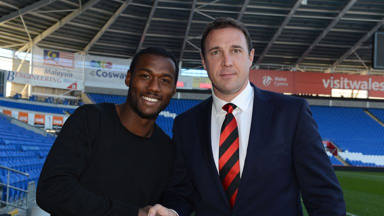 Kevin Theophile-Catherine: Delighted to have linked up with Malky Mackay at Cardiff
