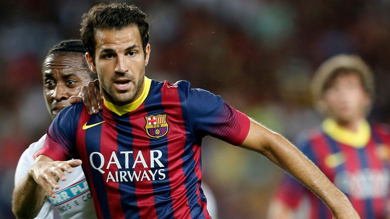 Cesc Fabregas: Tipped for a good season by Alves