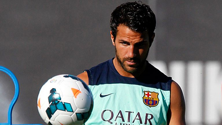 Cesc Fabregas: Has never said he wants to leave Barcelona