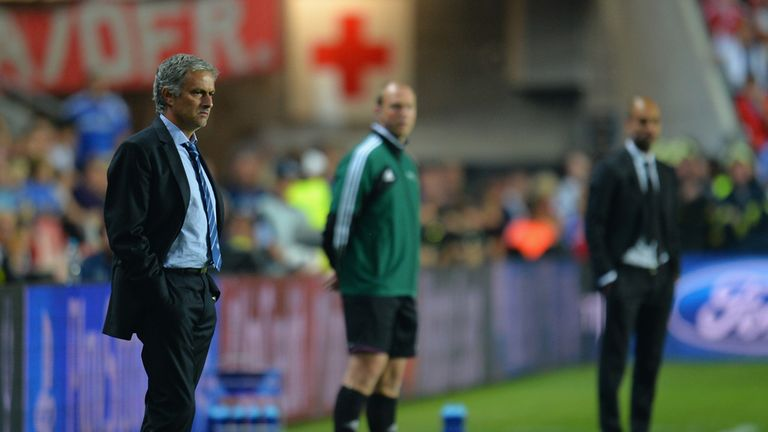 Mourinho could also face former El Clasico rival Guardiola in the Champions League semi-finals