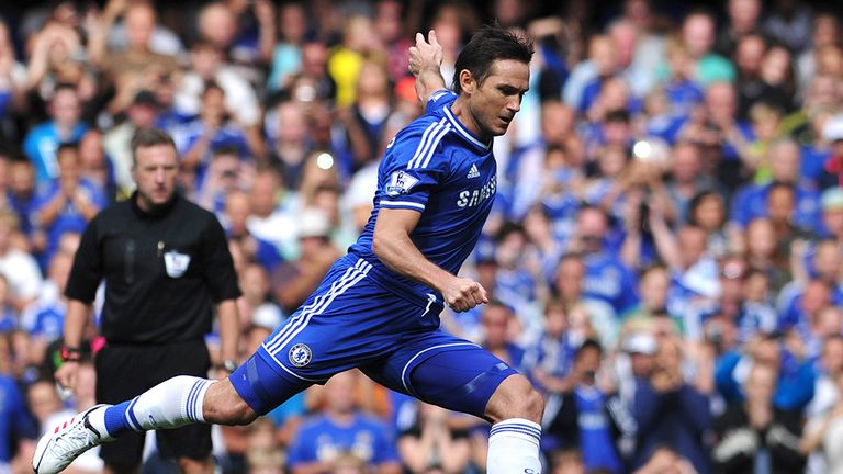 Frank Lampard: Out to impress new manager Jose Mourinho