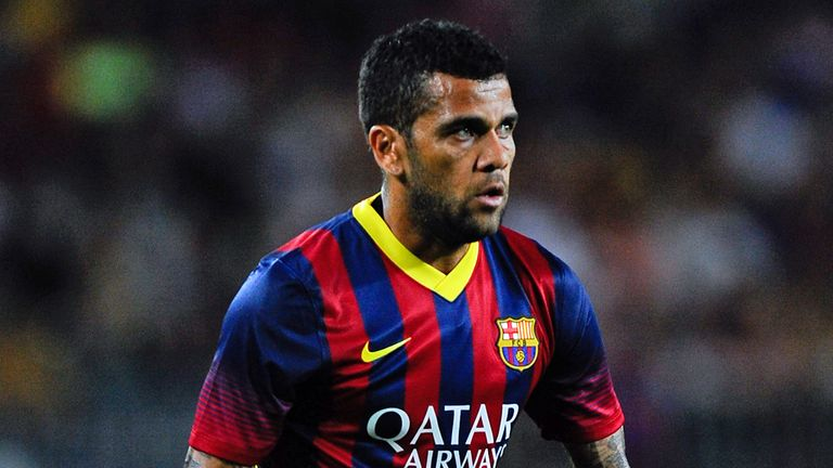Dani Alves: Insists Barcelona are 'in transition'