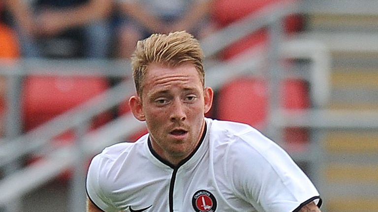 Danny Green: The Charlton midfielder has joined MK Dons on a one-month loan deal