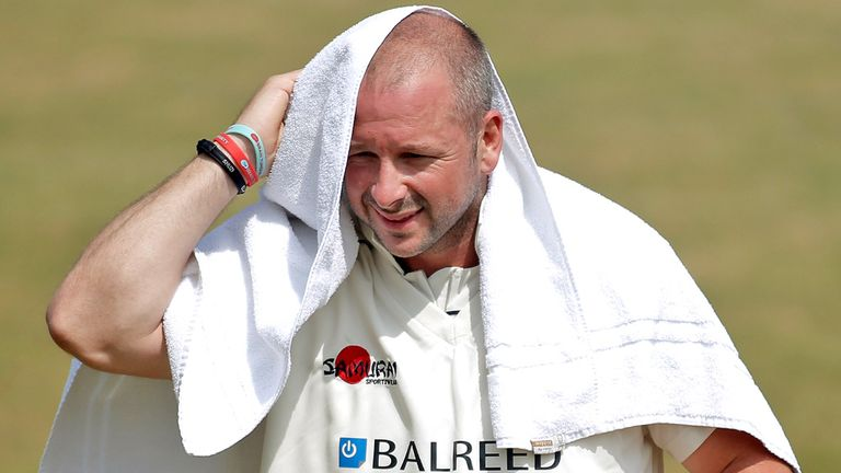 Darren Stevens: Charged by ICC