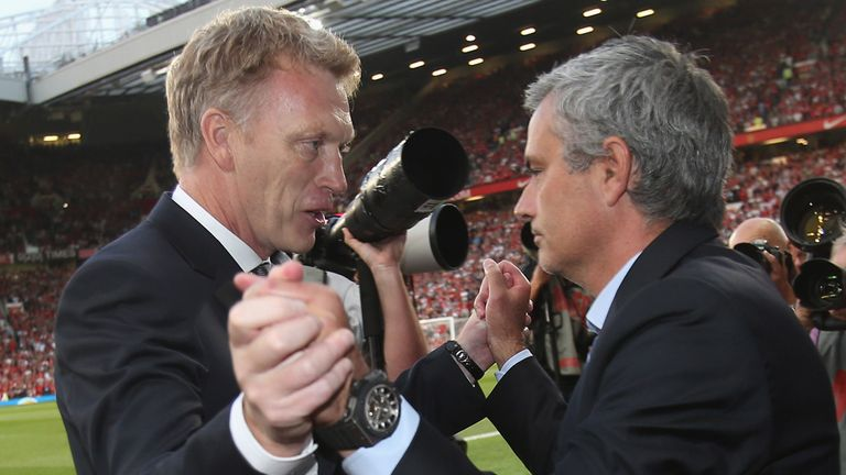 David Moyes: Plenty of respect for Jose Mourinho