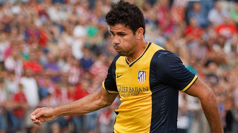 Diego Costa: Says he is content in Madrid
