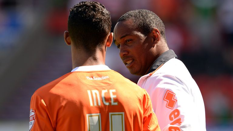 Paul Ince: Helping to shape son Thomas' career