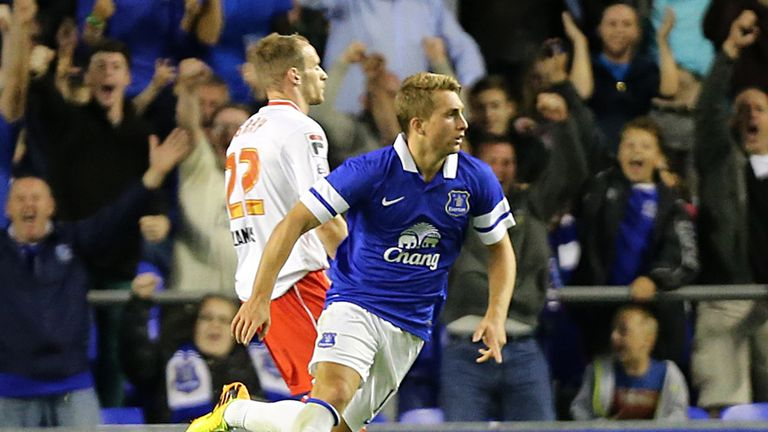 Gerard Deulofeu: Impressing the Goodison Park faithful already