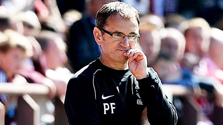 Pat Fenlon: Confident of chairman's backing