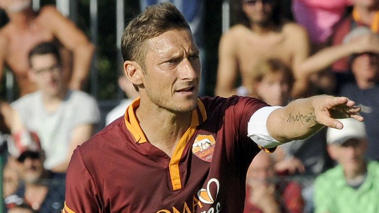 Francesco Totti: Described as an 'immortal' by Buffon