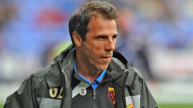 Gianfranco Zola: Praised his side's attitude after draw