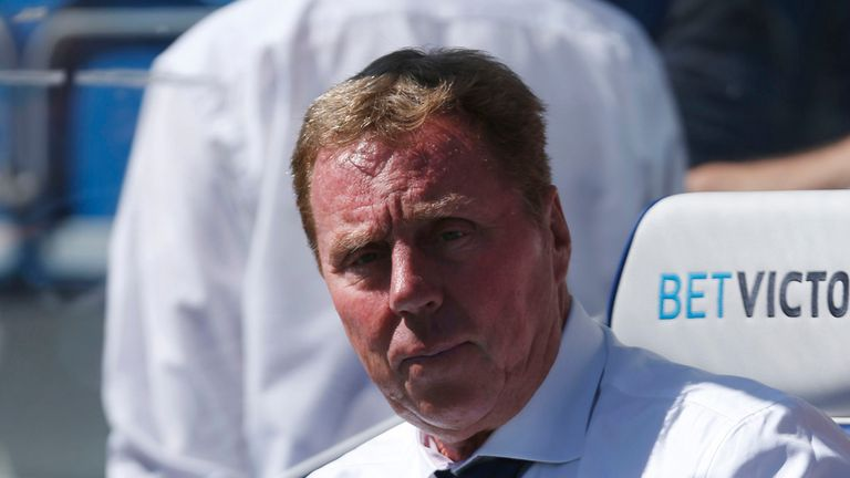 Harry Redknapp: QPR boss weighing up a move for Marius Zaliukas