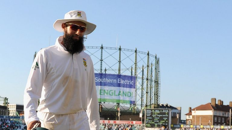 Hashim Amla: Steered Surrey towards stumps after torrid spell