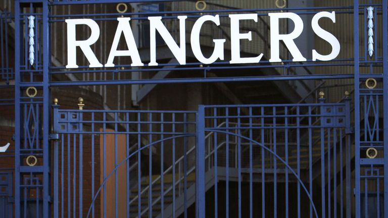 Contracts at Ibrox are the subject of an ongoing dispute