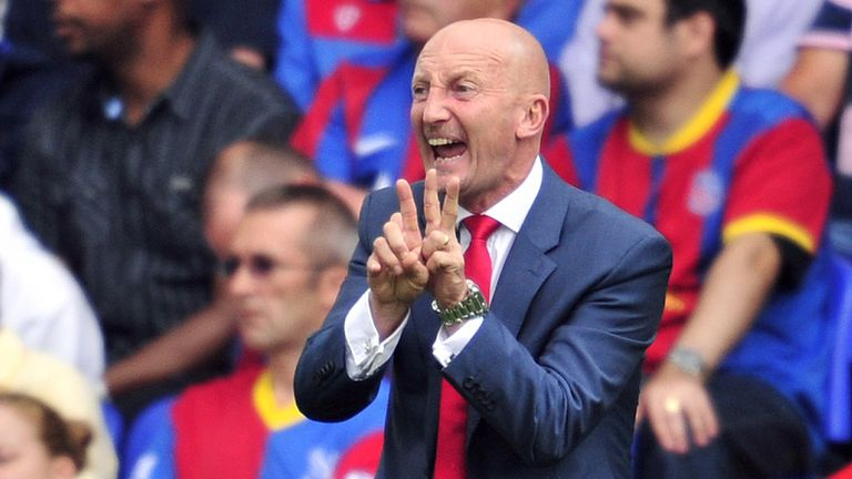 Ian Holloway: Hard work can keep Palace in the top flight