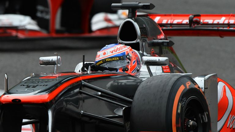 Jenson Button: Finished sixth at Spa