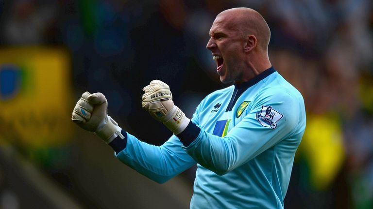 John Ruddy: Norwich goalkeeper has signed a new four-year contract