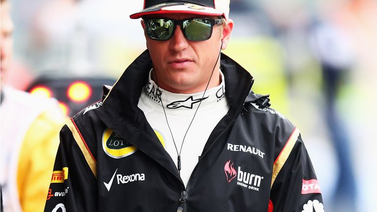 Kimi Raikkonen: Would prefer not to see anymore rain