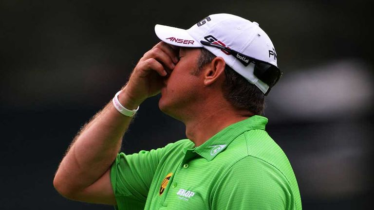 Lee Westwood: Dropped three shots in his last two holes