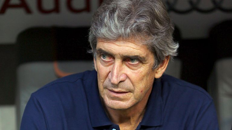 Manuel Pellegrini: The City boss admits to some concerns over his defence, with the impressive Matija Nastasic side-lined through injury.