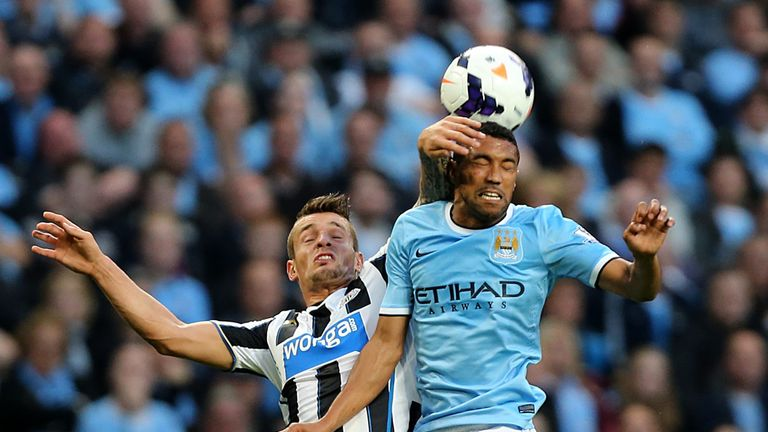 Gael Clichy: The defender says he is delighted with Manchester City's start to the new season