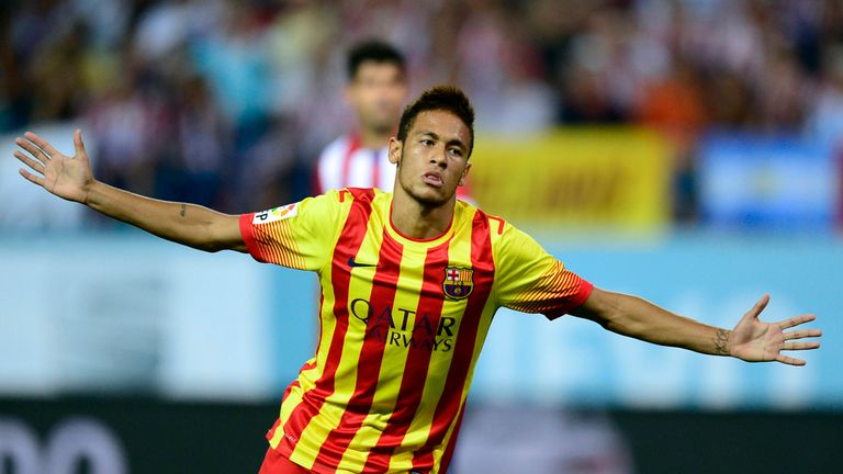 Neymar: Has been backed to adjust by his boss Gerardo Martino
