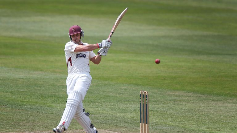Nick Compton: Contributed vital knock of 66 against fellow strugglers Surrey