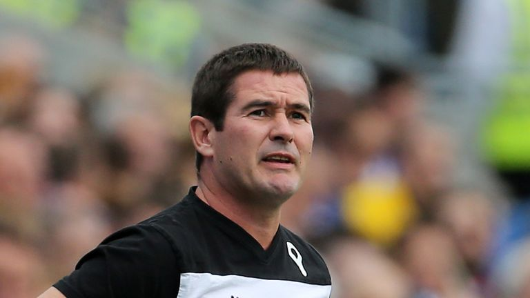 Clough: axed by Derby after defeat to Nottingham Forest