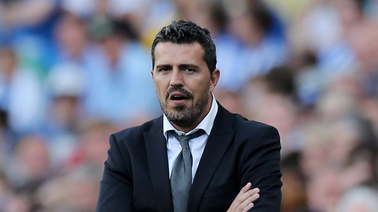 Oscar Garcia: Heavy praise for Brighton youth