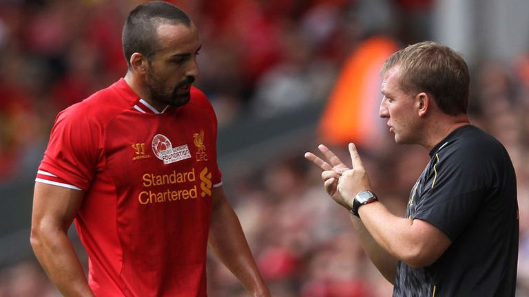 Jose Enrique: Ready to fight to keep his place in Brendan Rodgers' plans