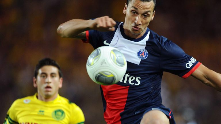 Zlatan Ibrahimovic: Expected to feature this weekend for Paris Saint-Germain