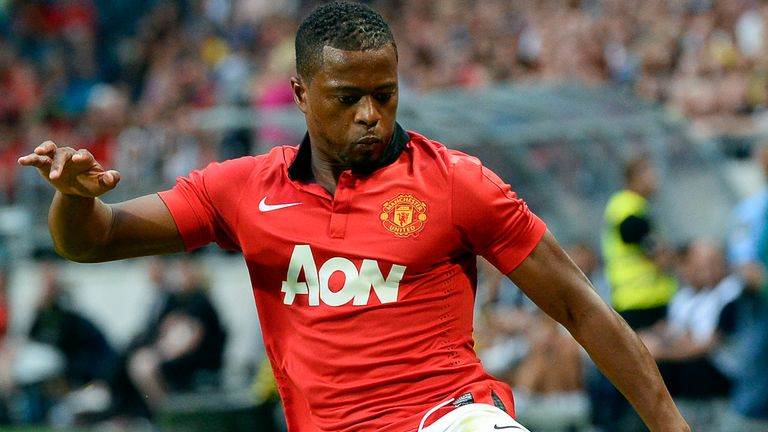 Patrice Evra: Current contract is due to expire at the end of the season
