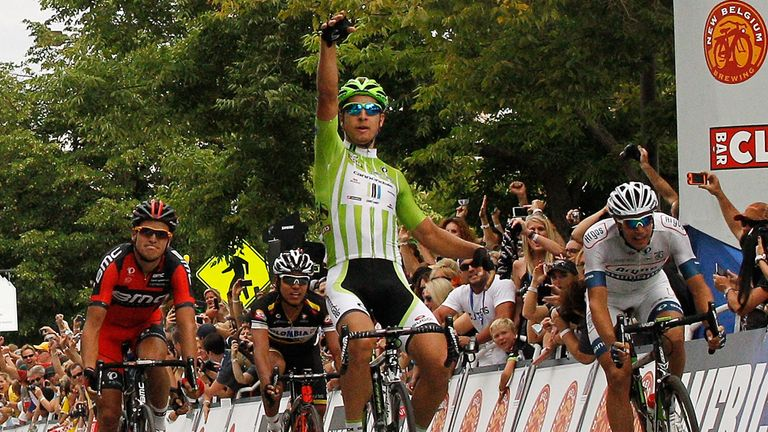 Peter Sagan: Rounded off the race in fine style