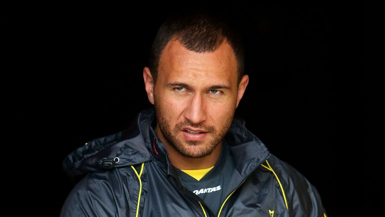 Quade Cooper: Thrilled to be named vice-captain for Saturday's Cook Cup clash