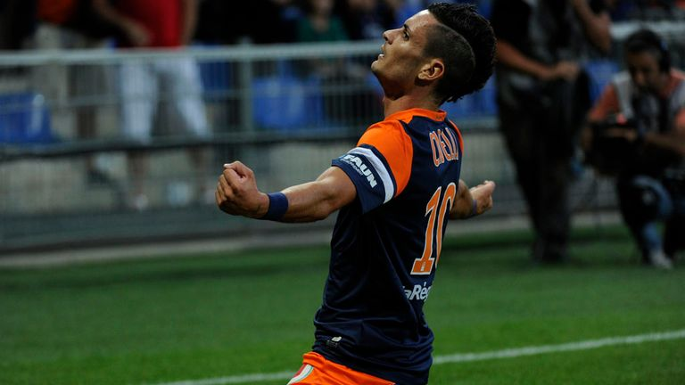 Remy Cabella: Scored for Montpellier