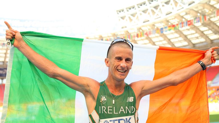 Robert Heffernan: Claimed World Championships gold