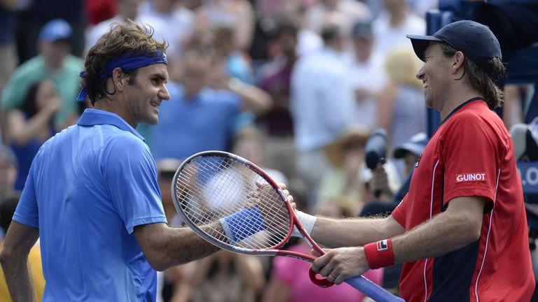 Roger Federer: Was far too good for Carlos Berlocq
