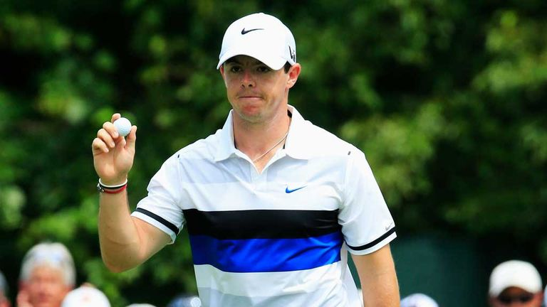 Rory McIlroy: Birdied three of the first four holes